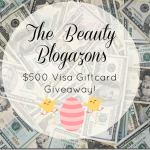 Beauty Blogazon Spring Giveaway, Win $500
