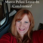 Defrizzing My Hair With Marco Pelusi Leave-in Conditioner