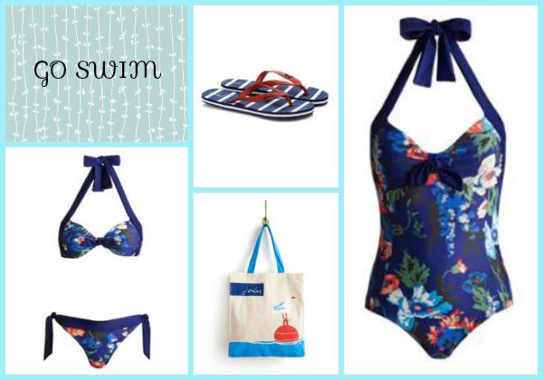 Joules swimwear