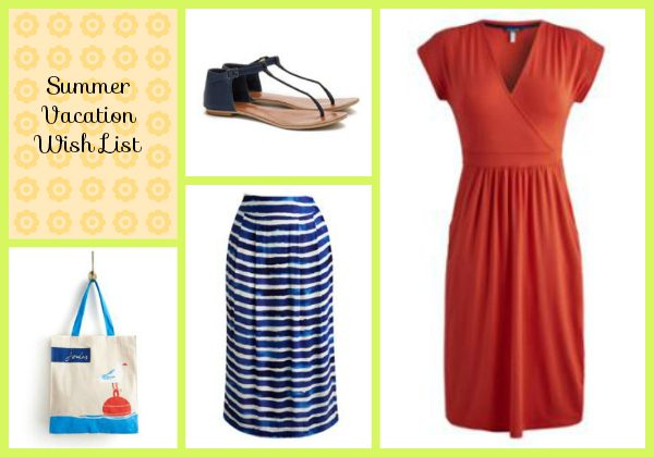 Joules vacation shop wish list