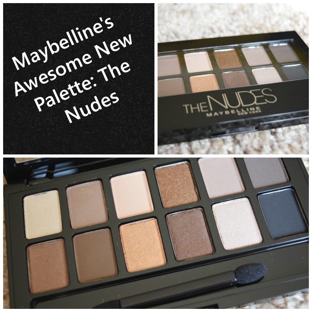 Maybelline The Nudes Shadow Set