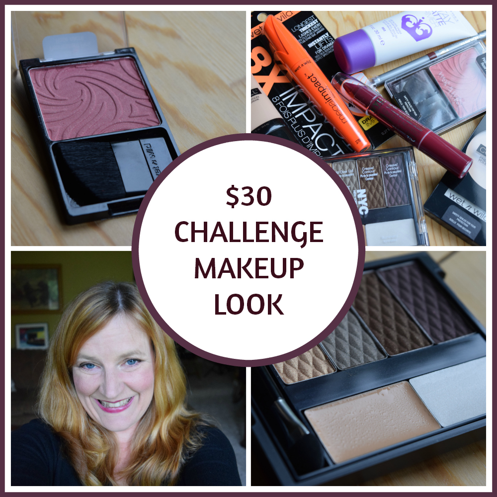 Thirty Dollar Challenge Makeup Look