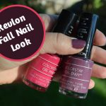 Two Steps to Great Fall Nails