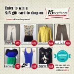 Win a 15each.co Gift Card!
