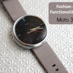 Fashion and Functionality With The Moto 360 Watch