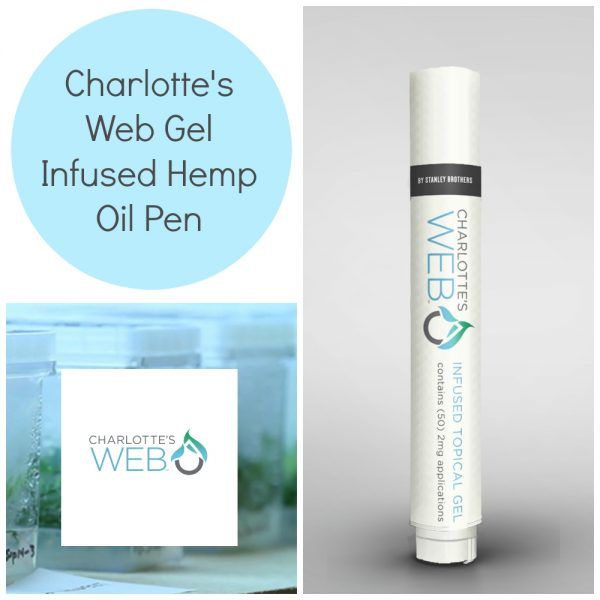 Charlottes Web gel infused hemp oil pen