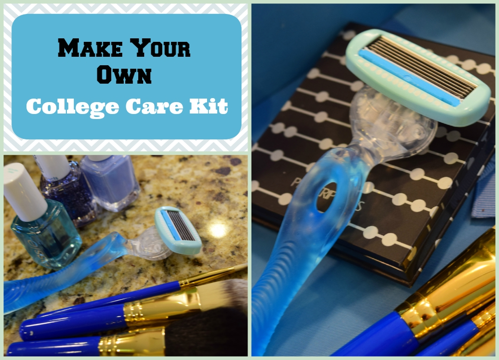 DIY collage care kit
