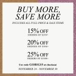 Big Shop Bop Sale Now Through November 30!