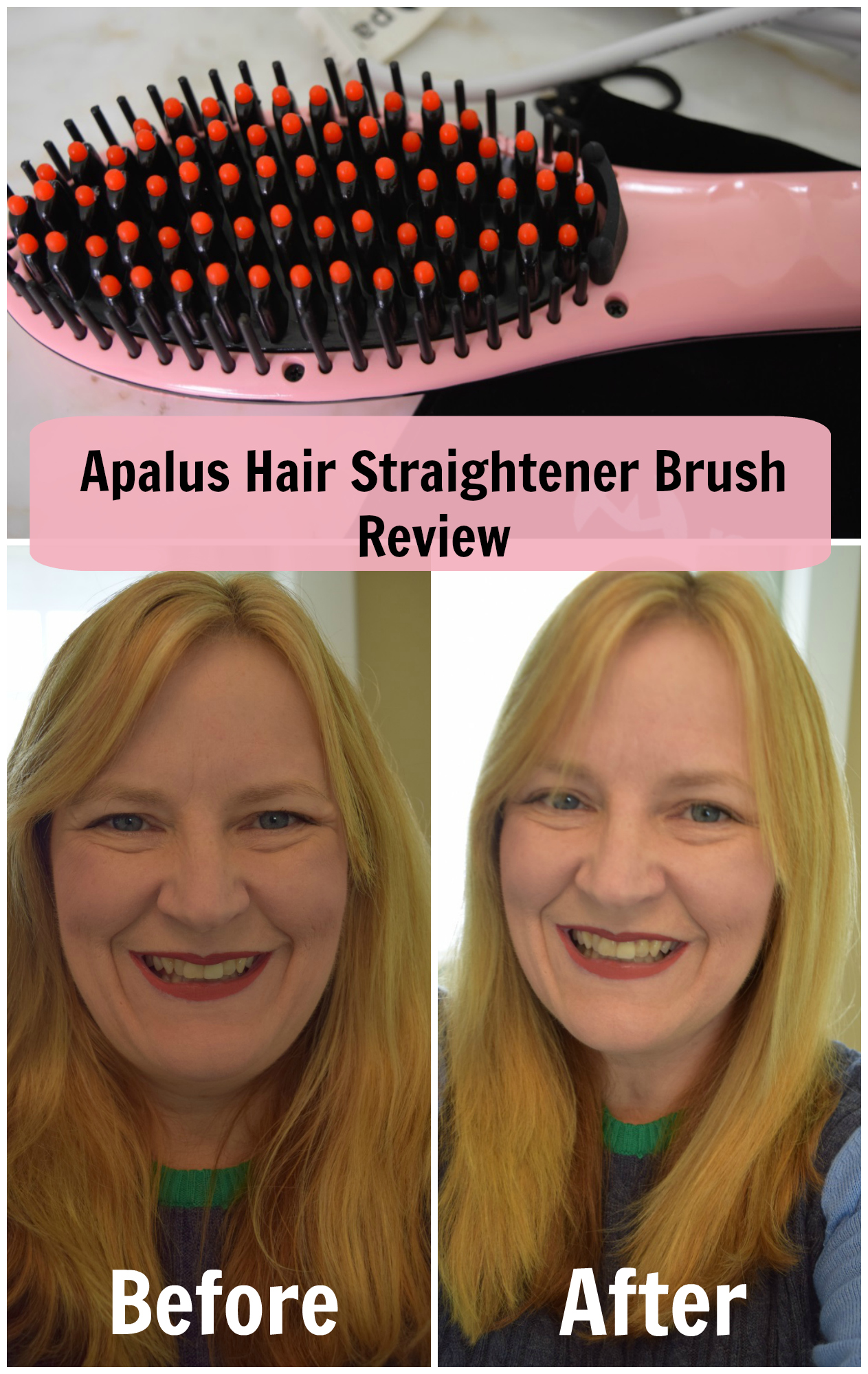 Apalus Hair straightening brush review