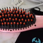 Apalus Hair Straightening Brush, Easier than a Flatiron!
