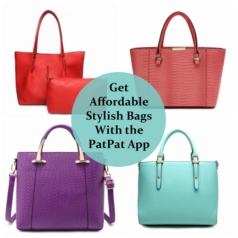 How to Get Affordable Stylish Handbags With the PatPat App  286238b59