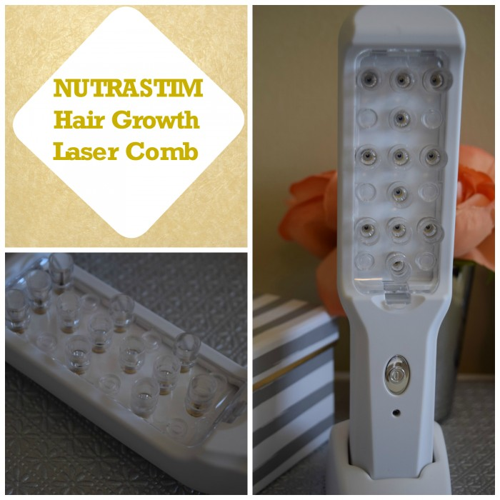 Nutrastim hair growth laser comb review