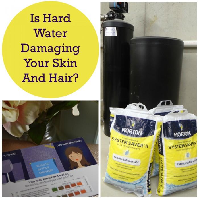 hard water hair and skin damage