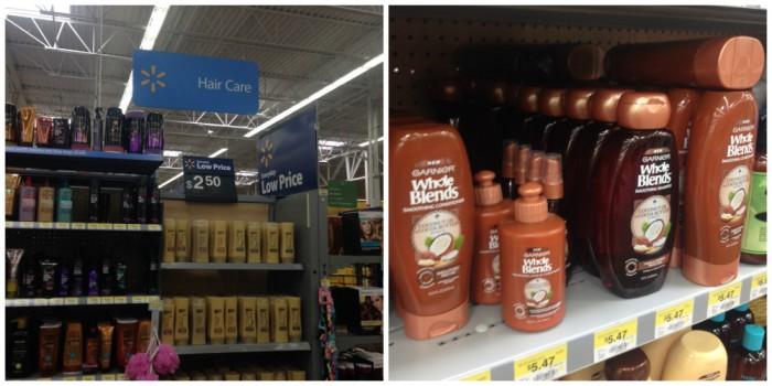 Walmart hair care