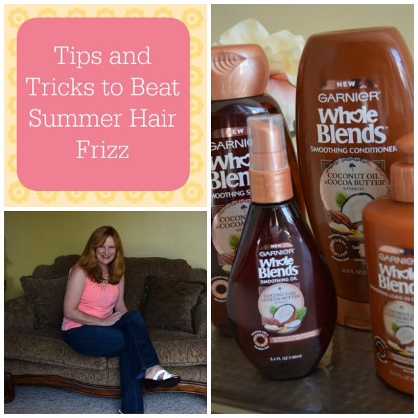 how to beat summer hair frizz