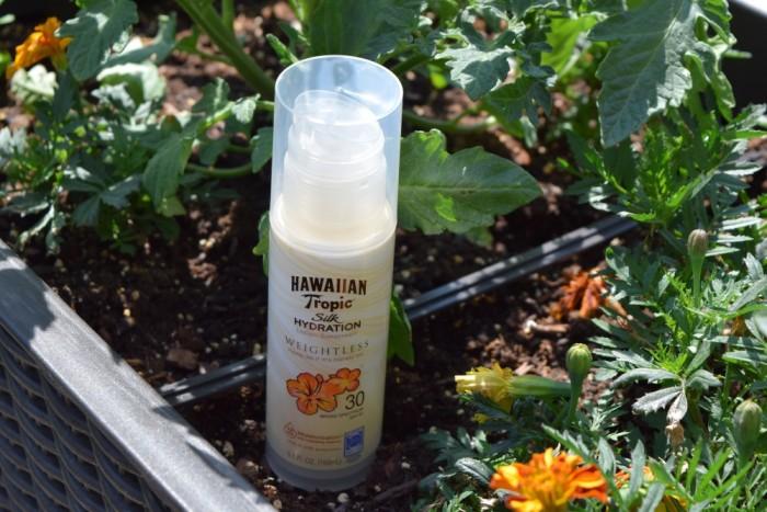 gardening and sunscreen