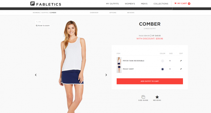 fabletics comber outfit