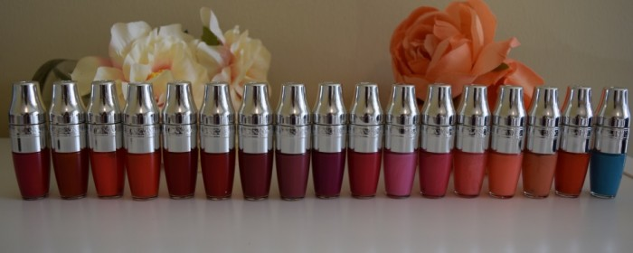 Lancome Juicy lip oil collection