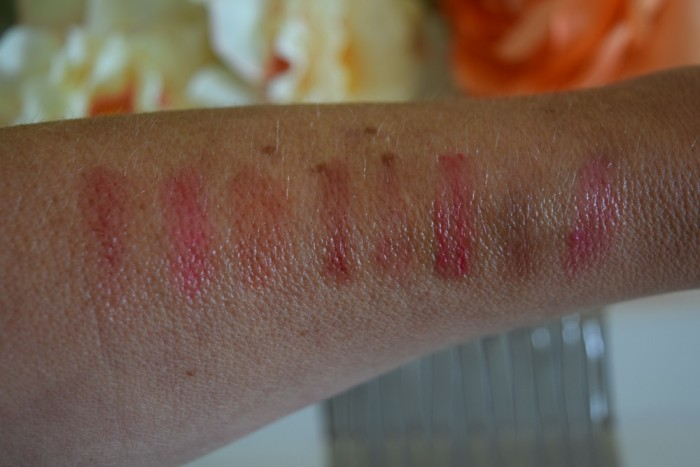lancome juicy shaker lip oil swatches
