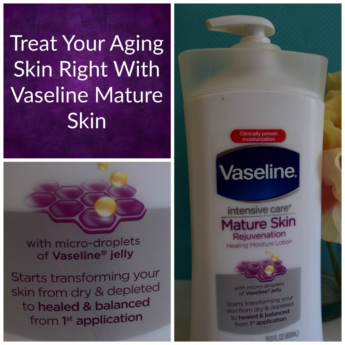 vaseline mature skin review