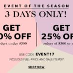 ShopBop Sale, Three Days Only!
