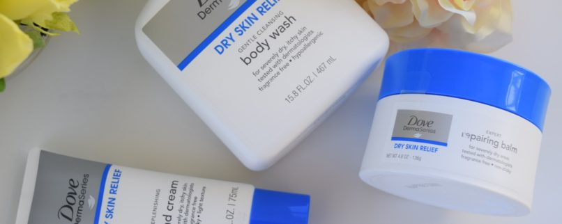 Getting Dry Skin Ready For Spring: Dove Derma Series