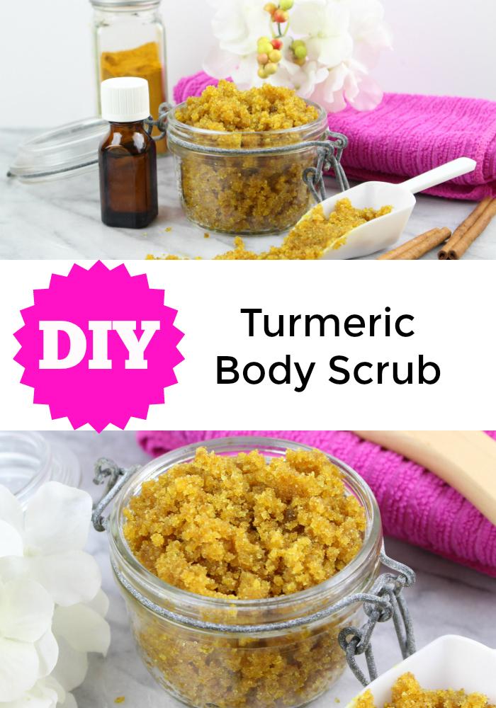 DIY Turmeric Body Scrub