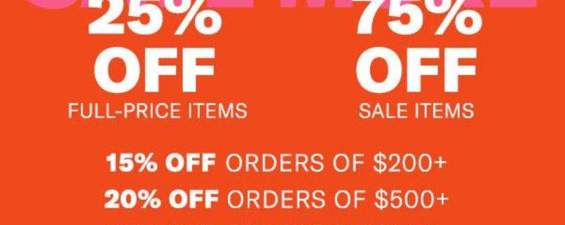 ShopBop Buy More Save More Sale!