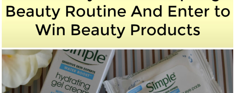 Take a New Look! Get Ready For Your Spring Beauty Routine And Enter to Win Beauty Products