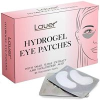 Lauer Under Eye Bags Treatment Patches | Eye Mask with Hyaluronic acid and SNAIL Slime Extract